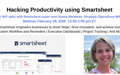 Recap: Hacking Productivity with Smartsheet