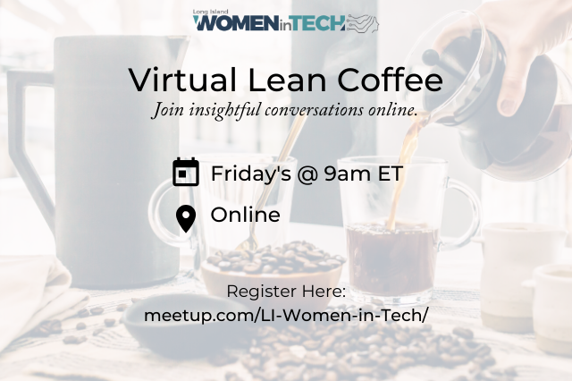Join Us for Virtual Lean Coffee!