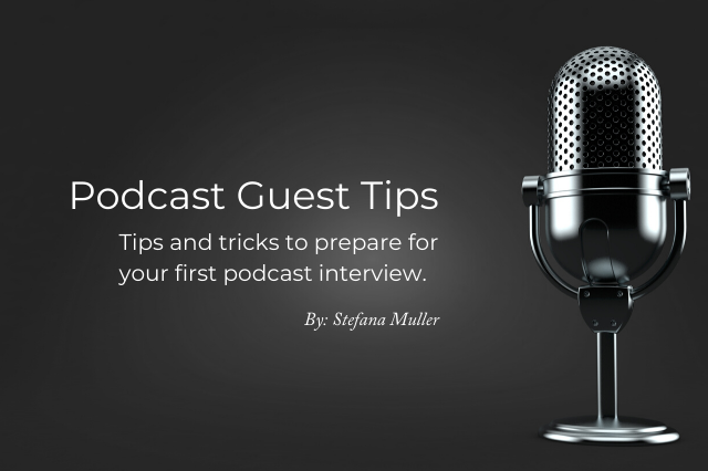 Podcast Guest Tips